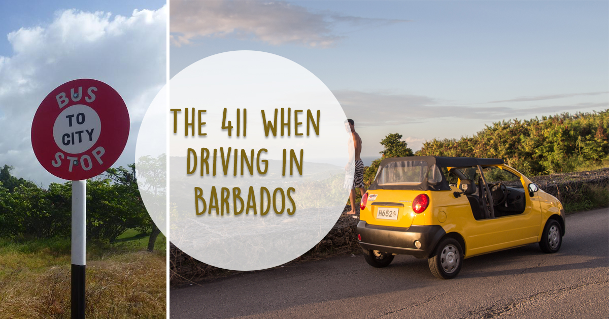 411 driving in barbados