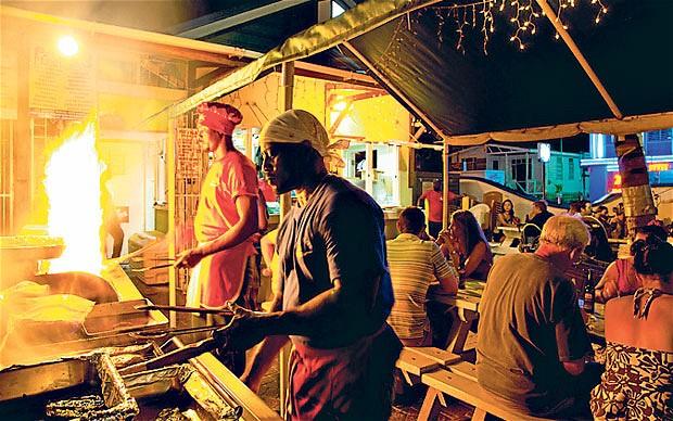 Oistins Fishfry, Barbados