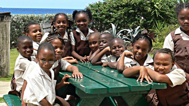 School Children in Barbados