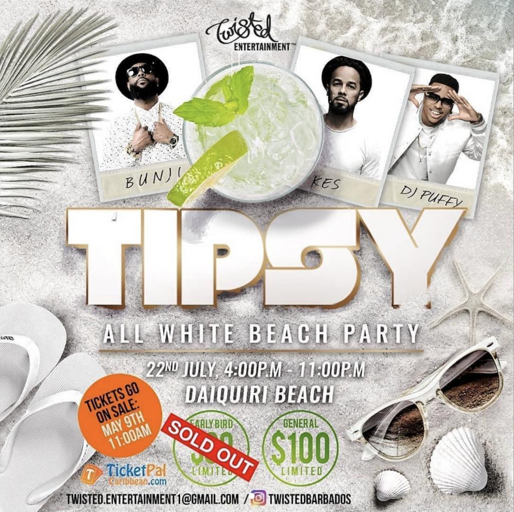 Tipsy Barbados 2018