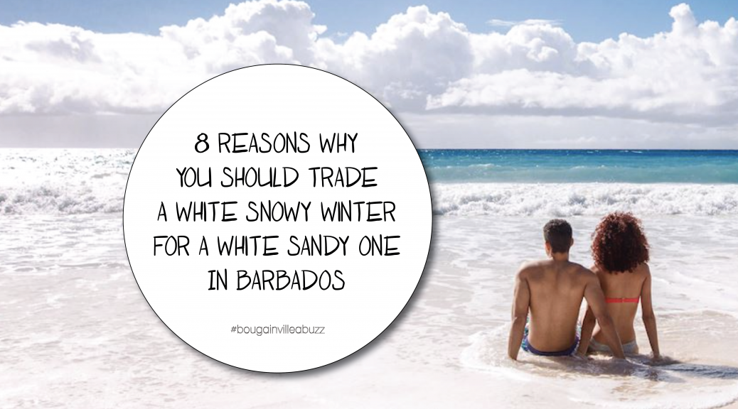 reasons why you should trade a white snowy winter for a white sandy one.