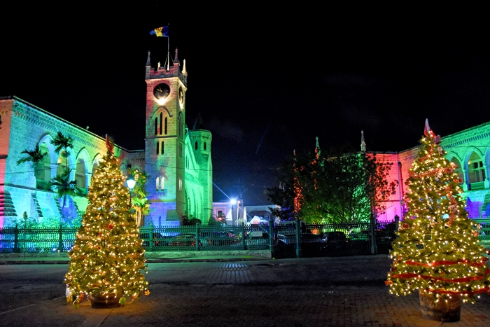 Bridgetown at Christmas