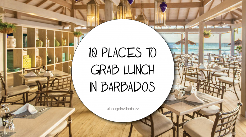 10 places to grab lunch in Barbados