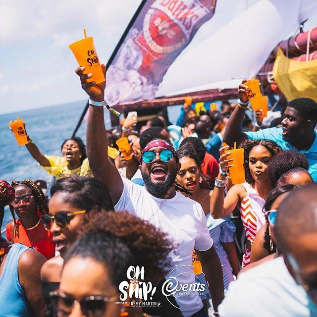 Boat party Barbados
